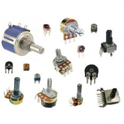 Резисторы переменные
