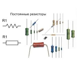 Резисторы постоянные